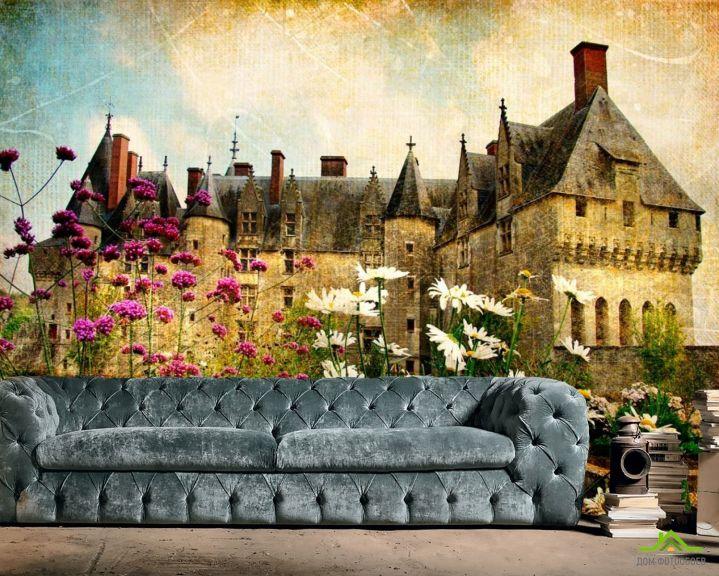 Фотообои Замок в глуши