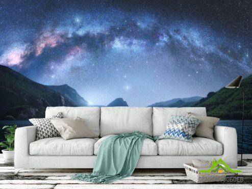 обои Космос Фотообои Звездное небо