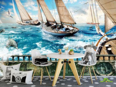 пираты Фотообои Корабль