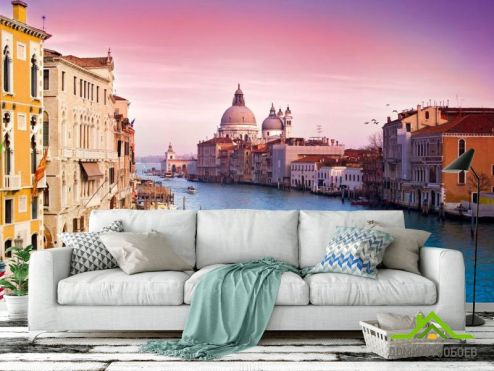 Венеция Фотообои Венеция, город на воде