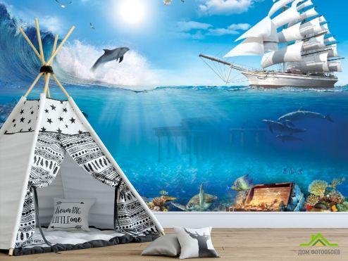 пираты Фотообои Море