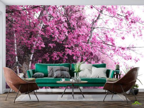 Фотообои Природа по выгодной цене Фотообои Розовое дерево