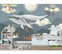 Фотообои Сказочный кит