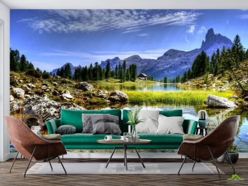 Фотообои Природа по выгодной цене Фотообои Пейзаж в горах