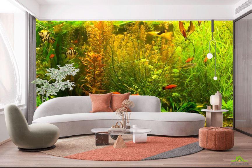 Фотообои аквариум