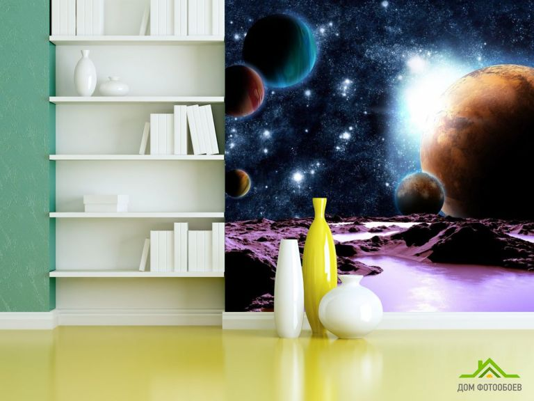 Фотообои 6 планет