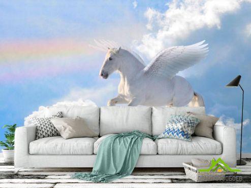 Лошади Фотообои Летающий пегас