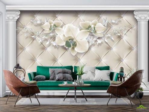 в стиле барокко Фотообои Орхидея купить