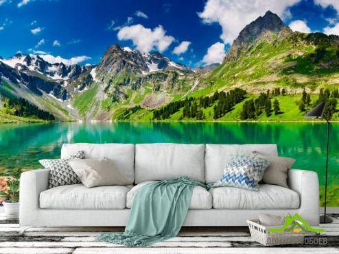 обои Горы Фотообои Сказочные горы
