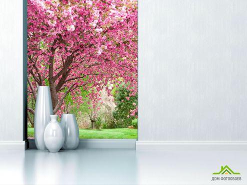 обои Природа Фотообои Цветущие вишни