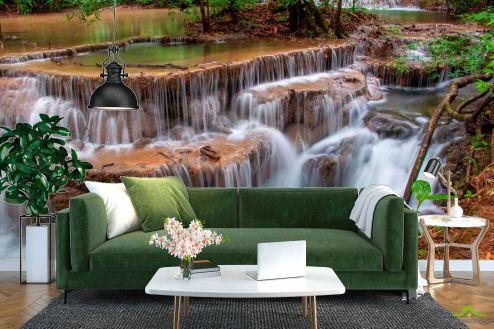 Водопад Фотообои Каскад, вода купить