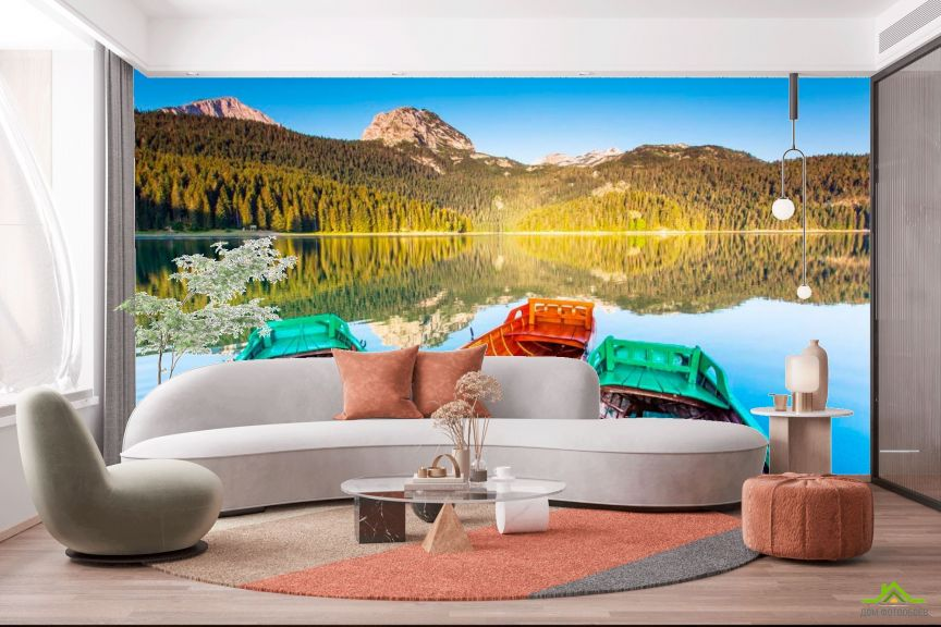 Фотообои Три лодки