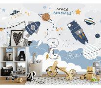 Фотообои Принт с космосом
