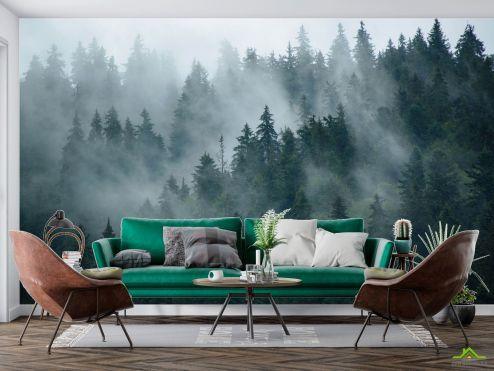 Фотообои Природа по выгодной цене Фотообои Лес в тумане