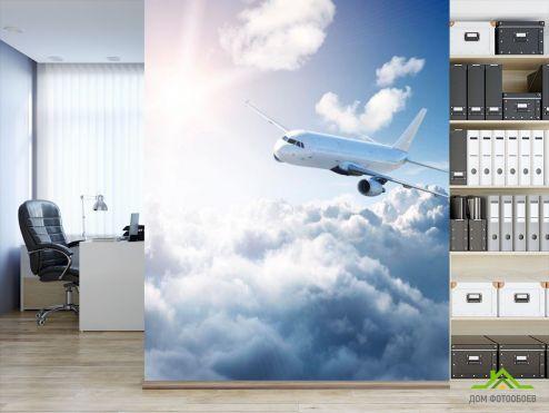 обои Самолеты Фотообои Самолет в небе