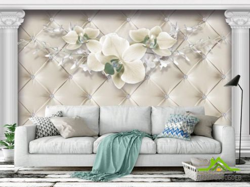 3Д обои Фотообои Орхидея