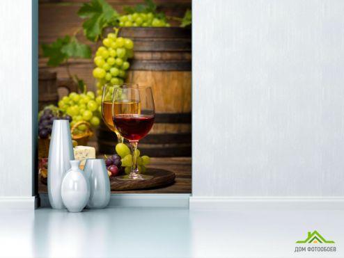 обои Еда и напитки Фотообои вино и сыр