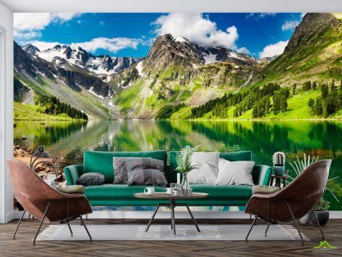 Природа Фотообои Пение гор