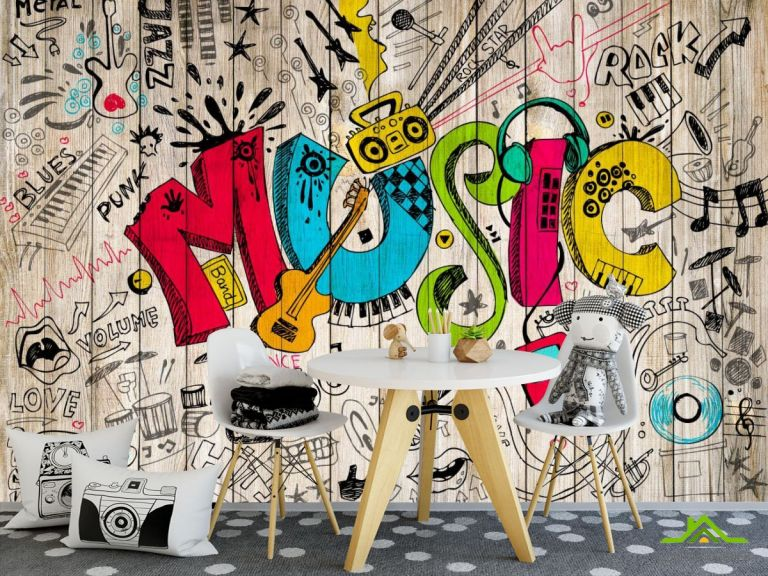 Фотообои Графити стена