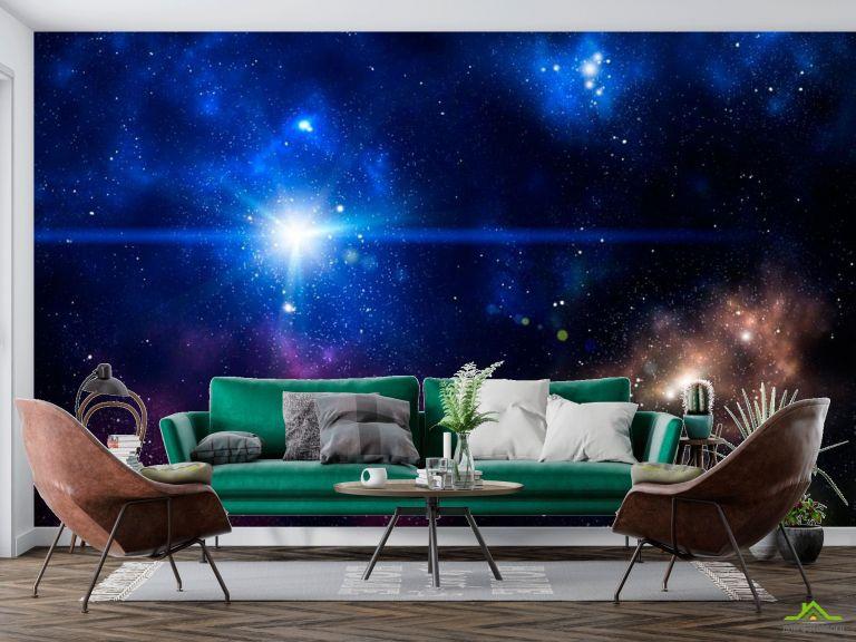 Фотообои Звезда в космосе