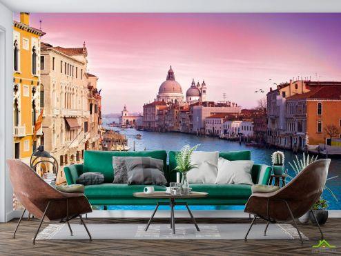 Фотообои Венеция по выгодной цене Фотообои Венеция, город на воде