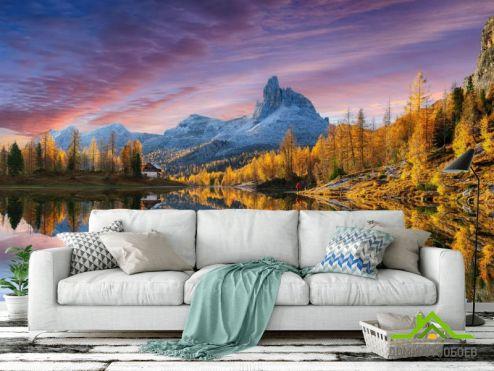 Природа Фотообои Осенний пейзаж купить