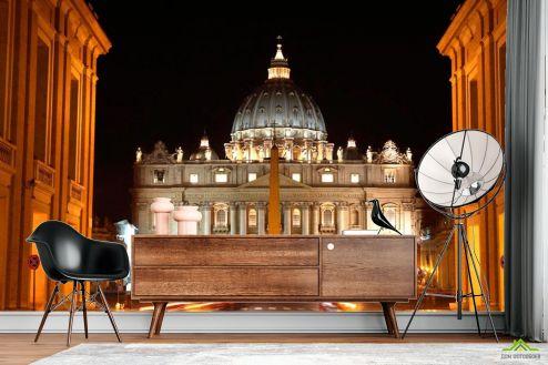 Архитектура Фотообои Ночной Ватикан