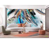 Фотообои Цветные перья