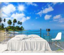 Фотообои Море и пальмы