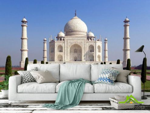 обои Дворцы и соборы Фотообои Тадж Махал, Индия