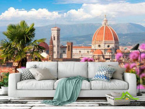 Дворцы и соборы Фотообои Весна во Флоренции