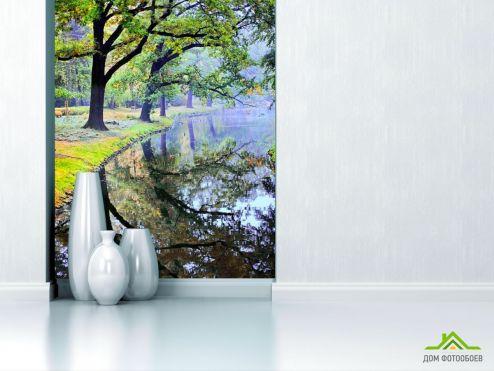 обои Природа Фотообои Деревья над водой