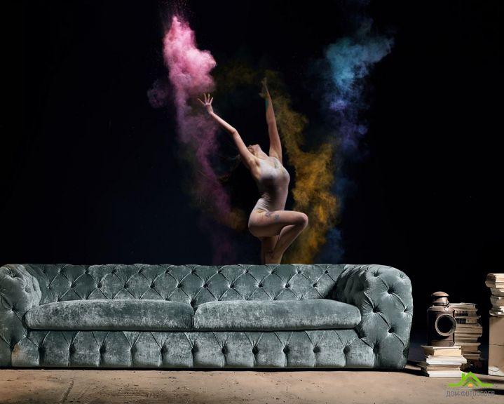 Фотообои девушка танцор
