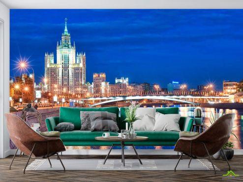 Старый город Фотообои Гостинница Москвы купить