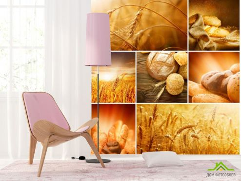 Каталог фотообоев Фотообои Пшеница, хлеб