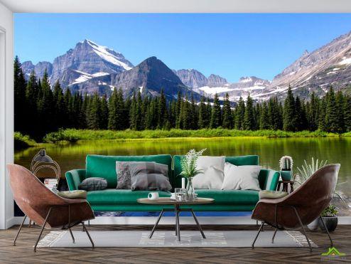 Природа Фотообои Загадочное место, горы