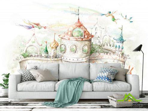 Иллюстрации Фотообои Сказочный замок