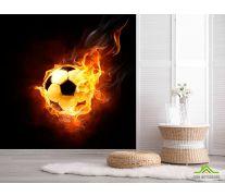 Фотообои Огненный мяч