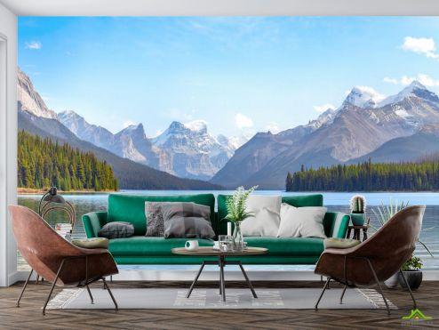 Природа Фотообои озеро в горах