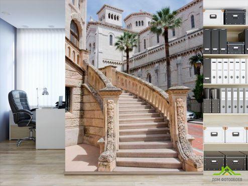 Дворцы и соборы Фотообои Лестница