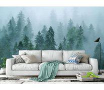 Фотообои Туман над лесом