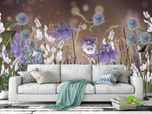 обои Цветы Фотообои Дизайнерские цветы