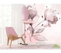 Фотообои Акварельный цветок