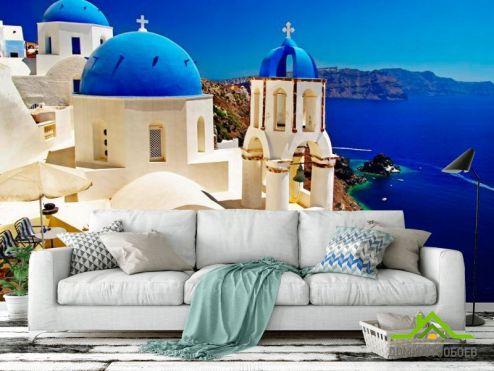обои Город Фотообои Греция