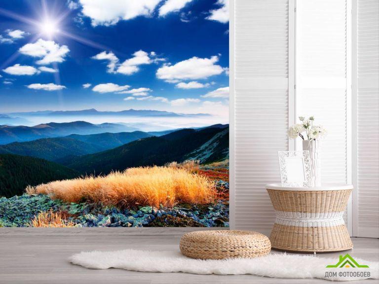 Фотообои Слои гор