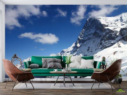 Природа Фотообои у снежной горы