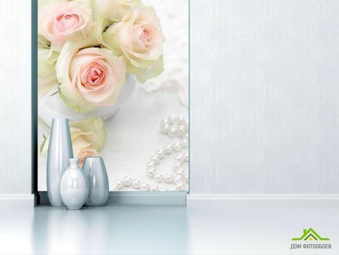 обои Розы Фотообои Белые розы