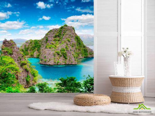 Фотообои Природа по выгодной цене Фотообои Горы в зелени