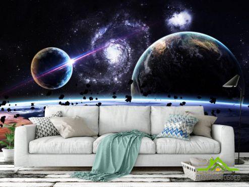 обои Космос Фотообои метеориты