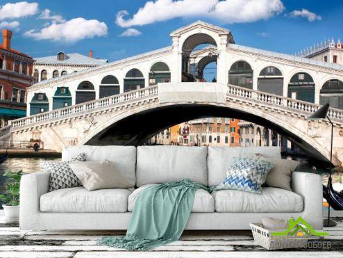 Венеция Фотообои Мост в Венеции